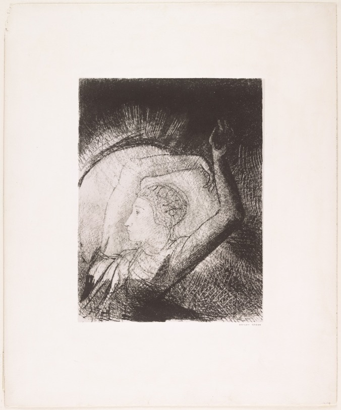 Odilon Redon A Woman Clothed with the Sun.jpg