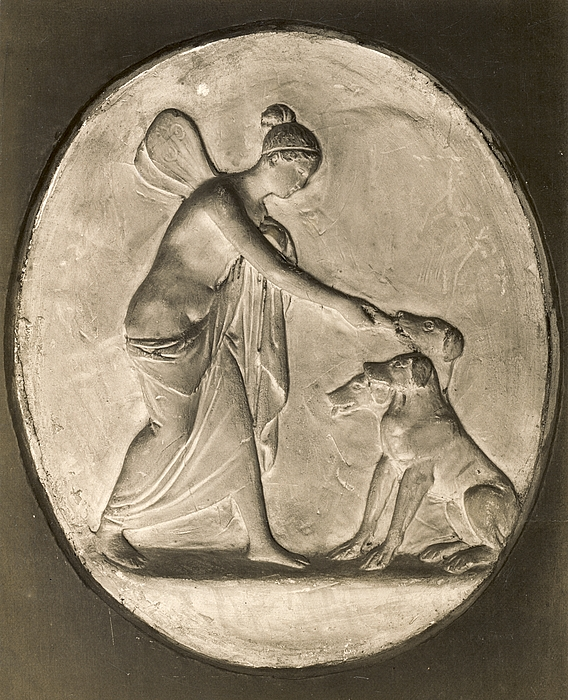 psyche and cerberus bertel thorvaldsen