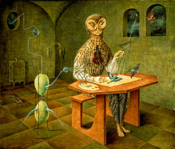 Remedios Varo creation of the birds