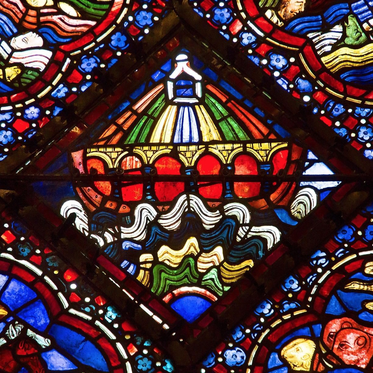 chartres cathedral noah ark