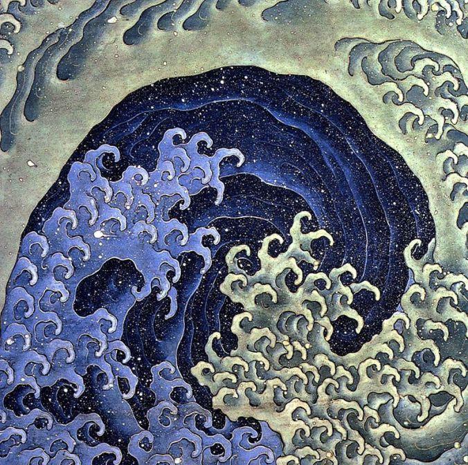 Hokusai Femenine_wave