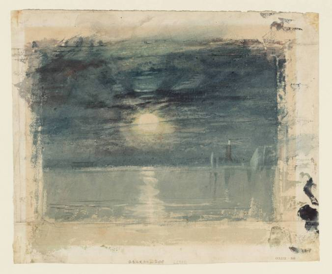 Shields Lighthouse circa 1826 by Joseph Mallord William Turner 1775-1851