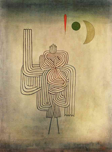 paul klee departure of the ghost