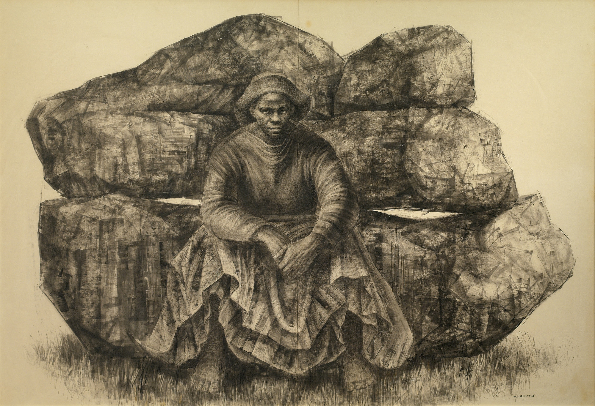 General Moses Harriet Tubman by Charles White