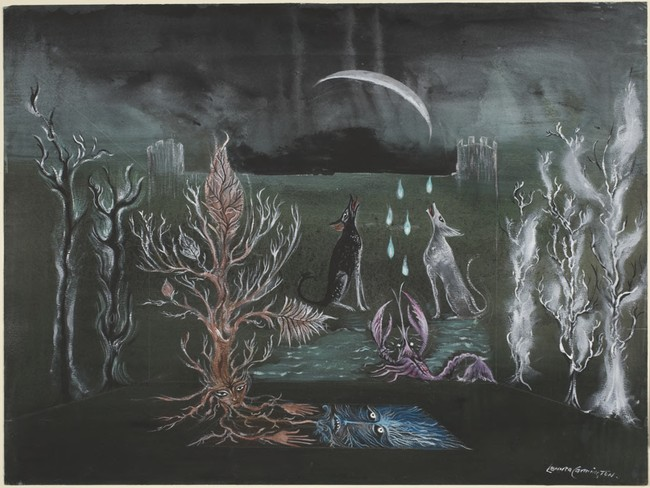 two dogs howling leonora carrington