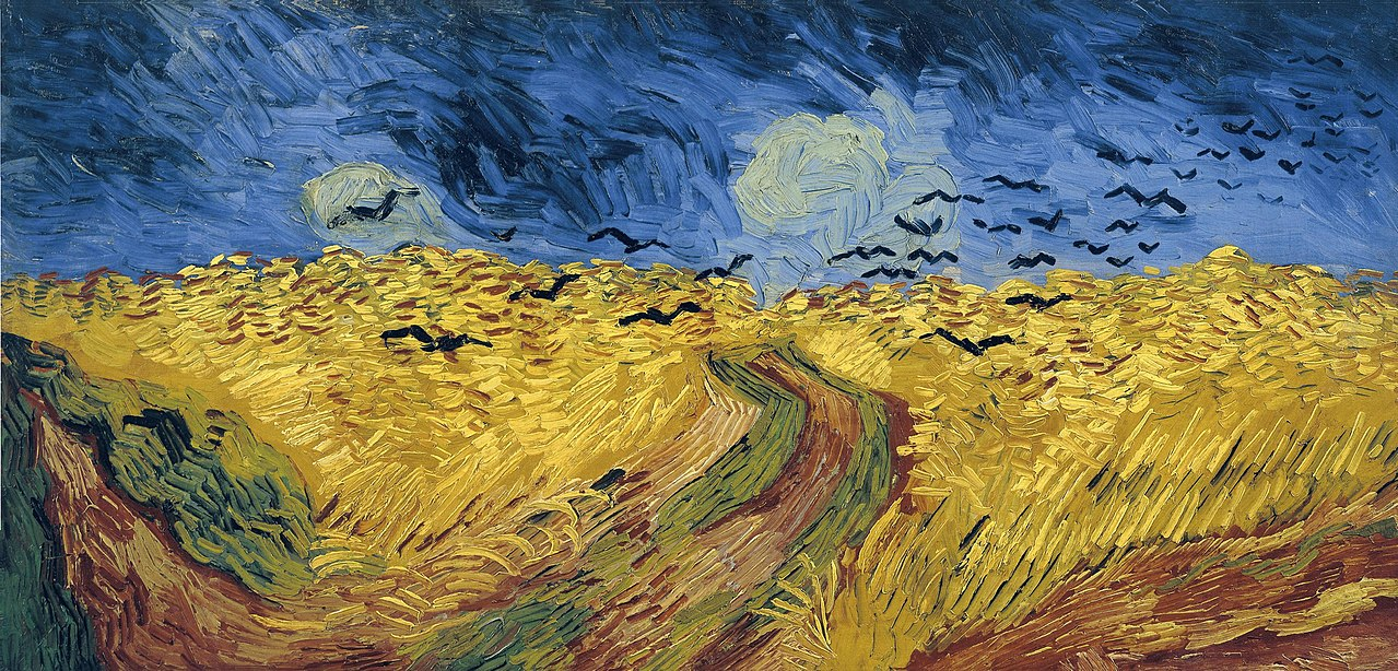Vincent Van Gogh Wheatfield_with_Crows