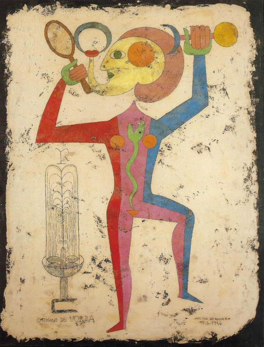 Victor Brauner origin of the word