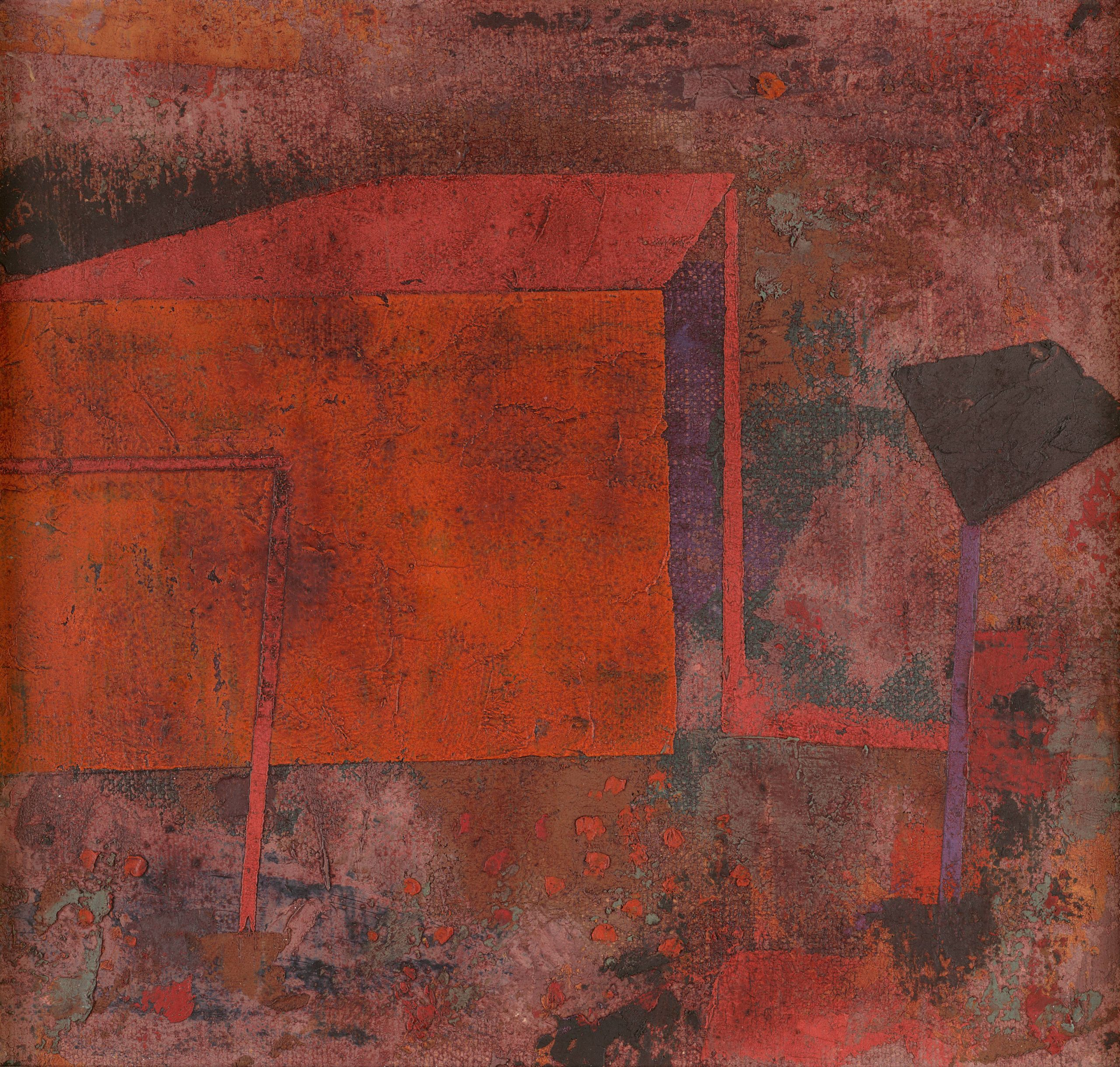 Paul Klee red house
