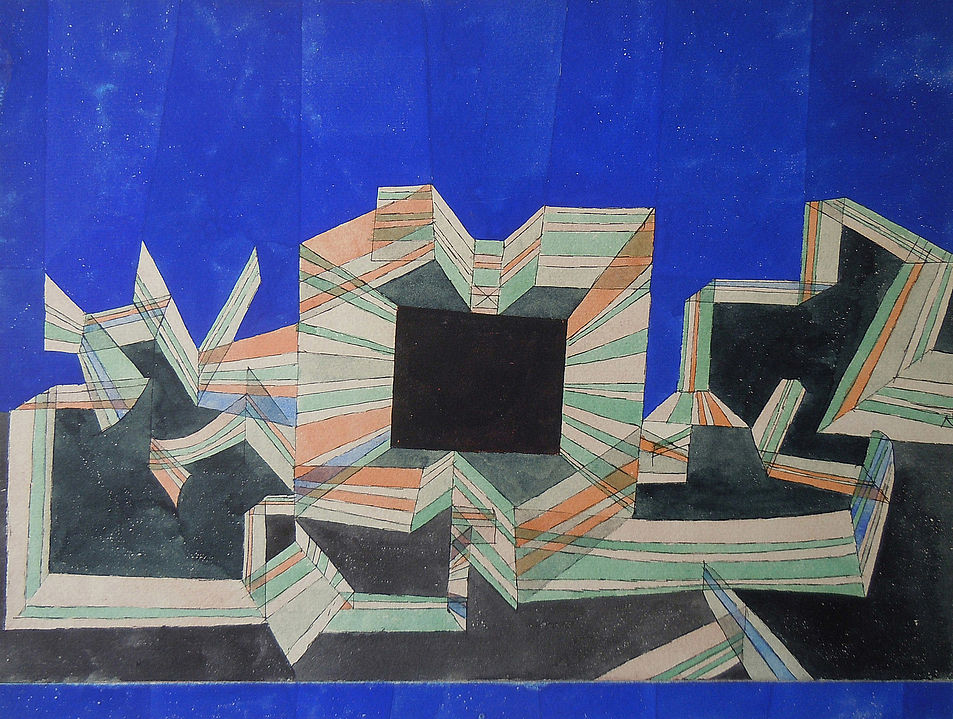 paul klee the gate of night