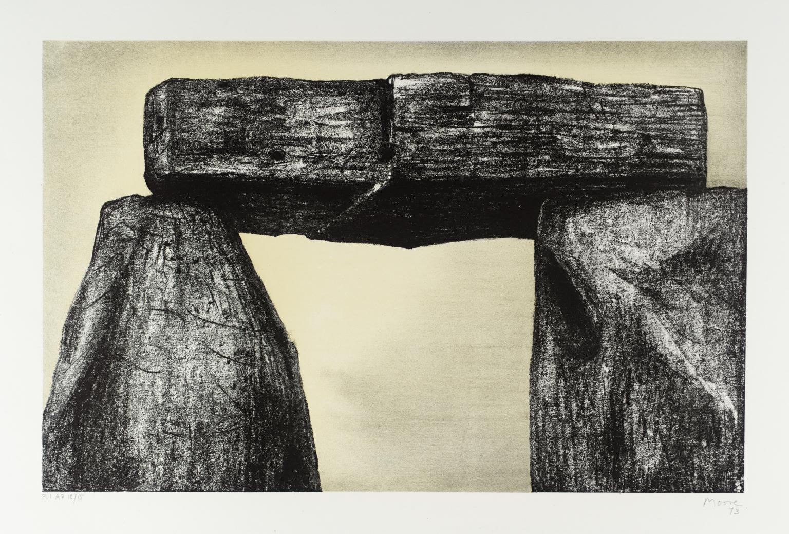 Stonehenge I by Henry Moore