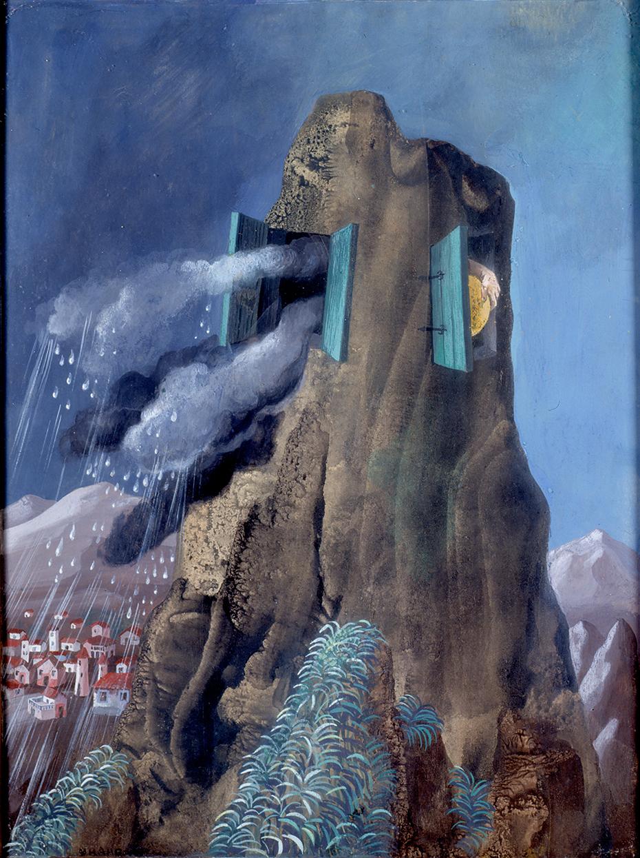 Remedios Varo (1948) Cambio-De-Tiempo