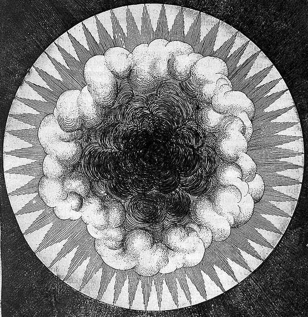 Robert Fludd from Utriusque Cosmi (1617)