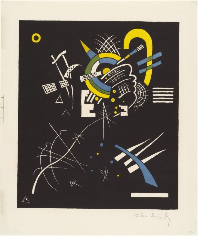 Vassily Kandinsky Small Worlds VII