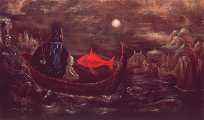 Fisher King by Leonora Carrington